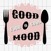 Restaurant Good Food Pos Instagram template
