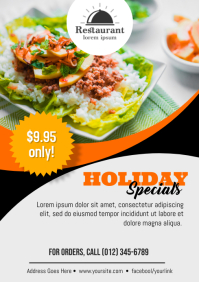 Restaurant Holiday Specials Promo
