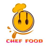 restaurant logo Logotipo template