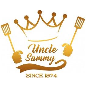 Restaurant logo design Logotipo template