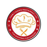 Family Restaurant Logo template