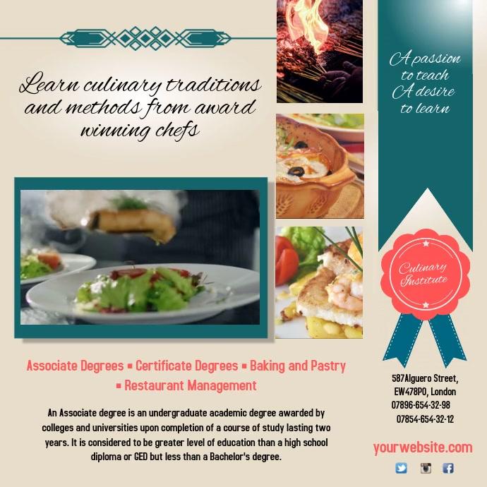 Restaurant Management Course Instagram