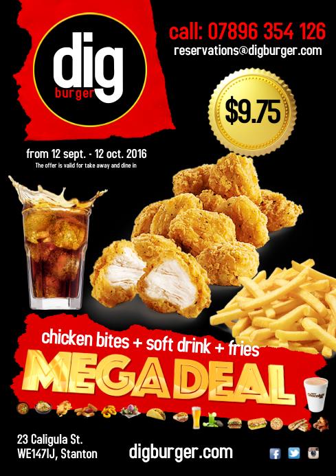 Restaurant Megadeal Poster