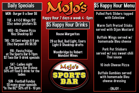 24830 Customizable Design Templates For Happy Hour Flyer