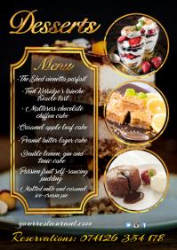 Restaurant Menu poster