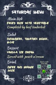 Restaurant menu - Slate