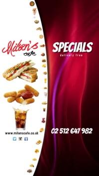 Restaurant Menu Special