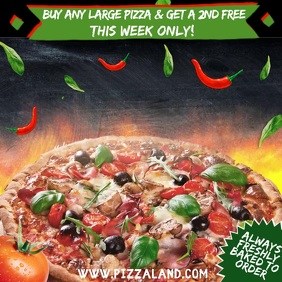 Restaurant Pizza Bar Pub Video Template