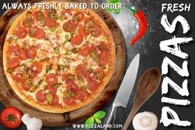 Restaurant Pizza Bar Template