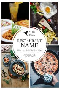 Charming Restaurant Flyer Template