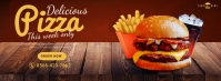 Restaurant Promotion Facebook Cover Design template