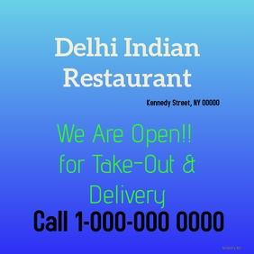 Restaurant Promotion flyer