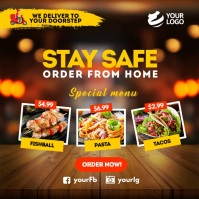 Restaurant Promotion Instagram Template
