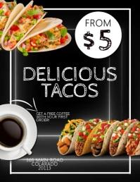 Restaurant Taco Template