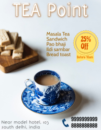 Restaurant tea