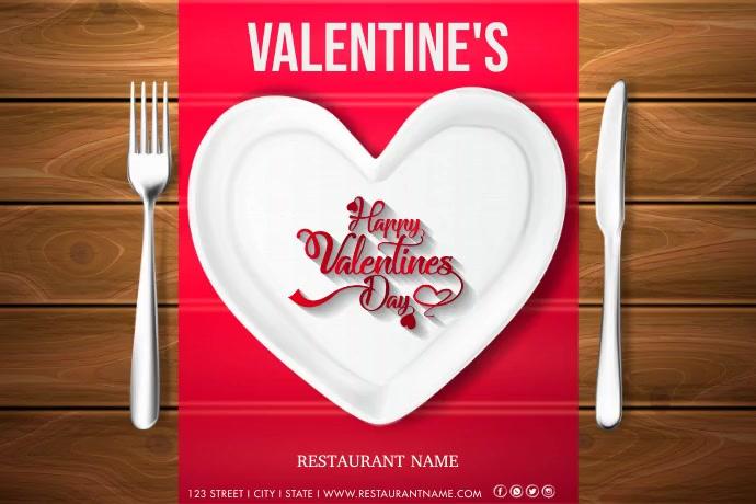 Restaurant Template Poster