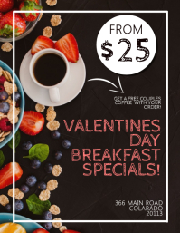 Restaurant Valentines Specials Event Template
