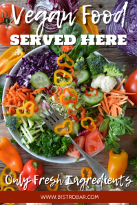 Restaurant Vegan Promotion Template