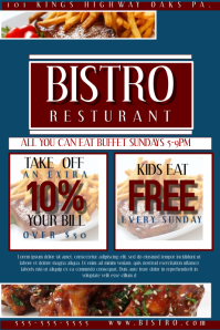 Resturant Flyer/Coupon  Coupon Flyer Template
