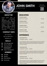 Resume A4 template