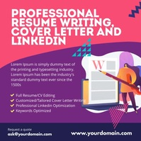 Resume writing a cover letter instagram template