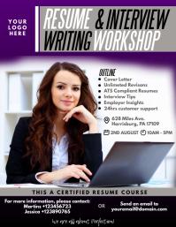 Resume Writing Workshop Flyer