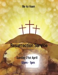 Resurrection Service Flyer