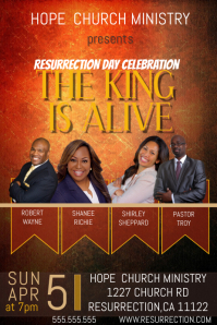 Resurrection Sunday Poster