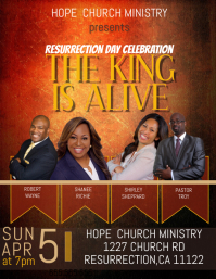 Resurrection Sunday Flyer