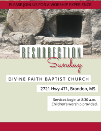 Resurrection Sunday Service