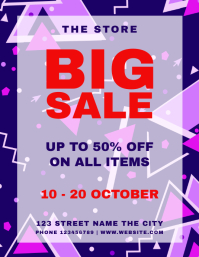 Retail Big Sale Flyer