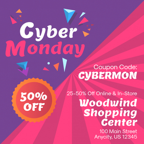 Retail Bright Cyber Monday Ad