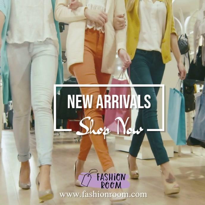 Retail Fashion Video Template