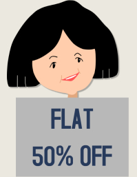 Retail poster Discount offer