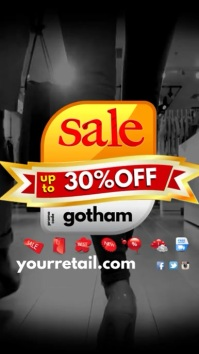 Retail Sale Instagram Template