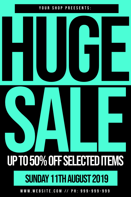 Retail Sale Poster
