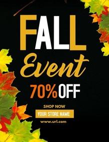 retail templates, Autumn flyers,Event flyers