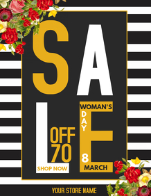 retail templates ,woman's day template,Event templates