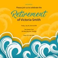 Retirement Celebrate Instagram Post template