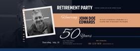 Retirement Invitation Facebook Cover Facebook-omslagfoto template