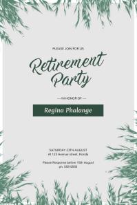 customizable design templates for retirement postermywall rh postermywall com funny retirement party flyers free retirement party flyers