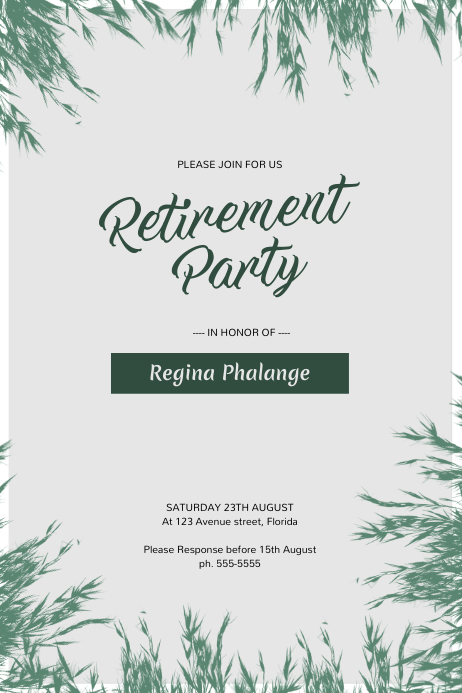 retirement party flyer template postermywall rh postermywall com retirement party flyer template blank retirement party flyer template blank free