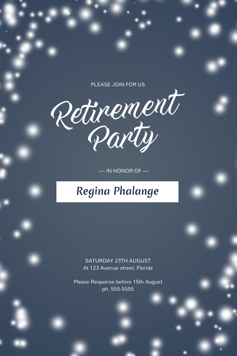 free retirement templates for flyers - retirement party flyer template postermywall