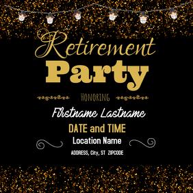 customizable design templates for retirement postermywall rh postermywall com funny retirement party flyers retirement party invitation flyers