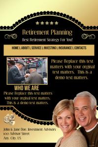 Retirement Planning Website Template