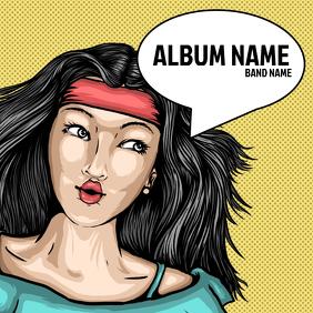 Retro Album Cover Template
