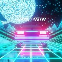 Retro Car 70's CD Album Cover Video Template Обложка альбома