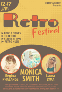 Retro Event Flyer