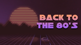Retro Music Youtube Thumbnail template