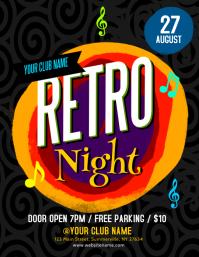 Retro Night Flyer